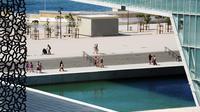 Le Musée des civilisations de l'Europe et de la Méditerranée (Mucem) le 28 juillet 2013 à Marseille [Anne-Christine Poujoulat / AFP/Archives]