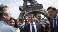 Le ministre de l'Intérieur Manuel Valls le 2 août 2013 à Paris [Bertrand Langlois / AFP]