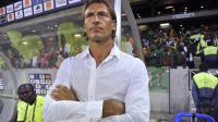 L'entraîneur français Hervé Renard, à l'époque sélectionneur de la Zambie et devenu entraîneur de Sochaux, le 29 janvier 2013 avant un match contre le Burkina Faso lors de la Coupe d'Afrique des Nations à Nelspruit, en Afrique du Sud [ / AFP]