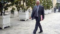 Michel Sapin le 27 août 2013 à Matignon [Bertrand Guay / AFP]