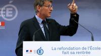 Vincent Peillon le 29 août 2013 à Paris [Thomas Samson / AFP/Archives]