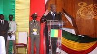 Ibrahim Boubacar Keïta lors de sa cérémonie d'investiture à Bamako, le 4 septembre 2013 [Habibou Kouyaté / AFP]
