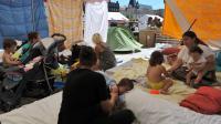 Des personnes en attente d'un logement d'urgence à Clermont-Ferrand, le 5 septembre 2013 [Thierry Zoccolan / AFP]