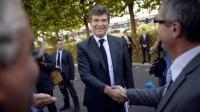 Arnaud Montebourg le 5 septembre 2013 au Bourget [Martin Bureau / AFP]