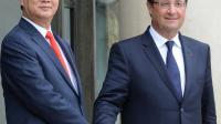 Le président François Hollande, le 25 septembre 2013 à l'Elysée à Paris [Pierre Andrieu / AFP]