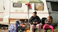 Un camp de Roms à Croix, dans le Nord, le 28 septembre 2013 [Philippe Huguen / AFP]