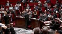 Jean-Marc Ayrault s'exprime devant l'Assemblée nationale le 1er octobre 2013 [Jacques Demarthon / AFP]