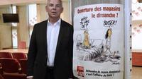 Le secrétaire général de la CGT, le 3 octobre 2013 à Montreuil, dans la banlieue parisienne [Bertrand Guay / AFP/Archives]