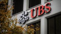 Le logo de la banque suisse UBS [Fabrice Coffrini / AFP/Archives]