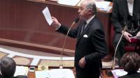 Le ministre des Affaires étrangères à l'Assemblée Nationale, le 17 décembre 2013 à Paris  [Jacques Demarthon / AFP]