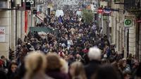 Une rue de Bordeaux [Jean-Pierre Muller / AFP/Archives]