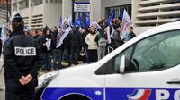 Des policiers manifestent à Nantes le 22 janvier 2014 pour dénoncer un manque de moyens [Frank Perry / AFP]