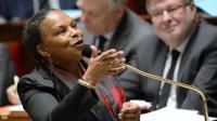 Christiane Taubira le 29 janvier 2014 à l'Assemblée nationale à Paris [Lionel Bonaventure / AFP/Archives]