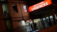 L'entrée des urgences le 20 février 2014 à l'hôpital Cochin, à Paris.