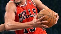 Joakim Noah lors d'un match des Chicago Bulls le 4 mai 2013 [Stan Honda / AFP/Archives]