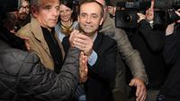 Robert Ménard à Béziers, ville dans laquelle il a remporté les municipales, le 30 mars 2014 [Sylvain Thomas / AFP]