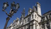 L'Hôtel de Ville de Paris [Joel Saget / AFP]