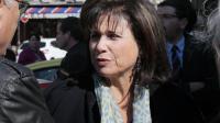 Anne Sinclair le 10 avril 2014 à Paris [Jacques Demarthon / AFP/Archives]