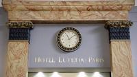 Lobby de l'hôtel Lutetia à Paris le 10 avril 2014 [Franck Fife / AFP]