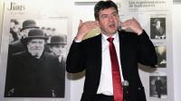 Jean-Luc Mélenchon, coprésident du Parti de gauche (PG), au musée Jaurès de Castres, le 24 avril 2014 [Eric Cabanis / AFP]