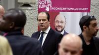Le premier secrétaire du PS Jean-Christophe Cambadelis le 25 avril 2014 à Colomiers [Pascal Pavani / AFP]
