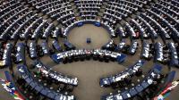 Les députés du Parlement européen, à Strasbourg, en séance plénière le 12 mars 2014 [Frédérick Florin / AFP/Archives]