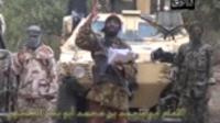 Capture d'écran faite le 5 mai 2014 d'une vidéo obtenue par l'AFP, montrant un homme qui affirme être le chef de Boko Haram, Abubakar Shekau [- / Boko Haram/AFP]