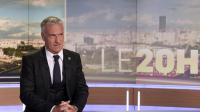 Le sélectionneur Didier Deschamps annonce sa liste des 23 joueurs pour le Mondial sur le plateau du 20h de TF1, le 13 mai 2014 à Boulogne-Billancourt [Franck Fife / Pool/AFP]