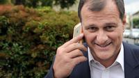 Le vice-président du FN, Louis Aliot, le 26 mai 2014 à Nanterre, dans la banlieue de Paris [Stéphane de Sakutin / AFP]