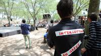 Des intermittents du spectacle en grève, lors d'une assemblée générale à Montpellier, le 6 juin 2014 [Sylvain Thomas / AFP]