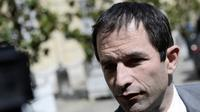 Le ministre de l'Education nationale Benoît Hamon, dans la cour de l'Hôtel Matignon, à Paris, le 16 juin 2014 [Stéphane de Sakutin / AFP/Archives]
