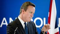 Le Premier ministre britannique David Cameron à Bruxelles, le 27 juin 2014 [Alain Jocard / AFP]