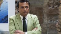 L'ex-capitaine du paquebot de croisières naufragé Concordia Francesco Schettino à Rome le 10 juillet 2014 [Vincenzo Livieri / AFP/Archives]