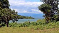 """L'île rwandaise d'Iwawa où se trouve un """"Centre de réinsertion et de développement des compétences"""", en mai 2014 [Stephanie Aglietti / AFP]"""
