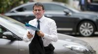 Manuel Valls à son arrivée le 15 juillet 2014 à l'Hôtel Matignon à Paris [Martin Bureau / AFP/Archives]