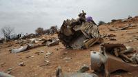- Débris -  [Sia Kambou / AFP]