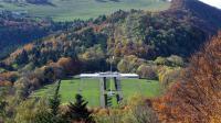 Le site du Hartmannswillerkopf (Haut-Rhin), rebaptisé le Vieil Armand par les poilus, où doivent se retrouver les présidents français et allemand pour un hommage commun et inédit aux combattants des deux pays pendant la Grande Guerre [Patrick Hertzog / AFP/Archives]
