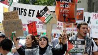 Manifestation propalestinienne à Paris, le 2 août 2014 [Dominique Faget / AFP]