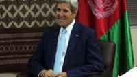 Le Secrétaire d'Etat américain John Kerry à Kaboul le 7 août 2014  [Massoud Hossaini / Pool/AFP]
