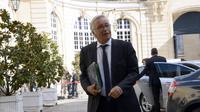 Le ministre du Travail François Rebsamen à l'hôtel Matignon, le 21 août 2014 [Bertrand Guay / AFP]
