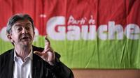 Jean-Luc Mélenchon lors des université d'été du Parti de Gauche, le 22 août 2014 à Saint-Martin d'Hères [Romain Lafabregue / AFP]