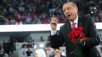 Le président élu de Turquie Recep Tayyip Erdogan à Ankara le 27 août 2014 [Rasit Aydogan / Pool/AFP]