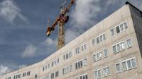 Un immeuble en construction à Villeneuve-d'Ascq le 29 août 2014 [Philippe Huguen / AFP]