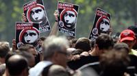 Manifestation en hommage au militant anti-fasciste Clément Méric, le 8 juin 2013 à Paris [Lionel Bonaventure / AFP/Archives]