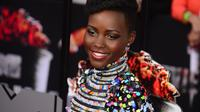 L'actrice mexicano-kényane Lupita Nyong'o à Los Angeles, le 13 avril 2014 [Frederic J. Brown / AFP/Archives]