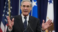 Robert Mueller, le 1er août 2013 à Washington DC lors d'une cérémonie de départ [Saul Loeb / AFP/Archives]