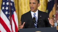 Le président américain Barack Obama à Washington le 9 août 2013 [Saul Loeb / AFP]