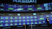La Bourse Nasdaq à New York [Emmanuel Dunand / AFP/Archives]