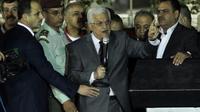 Le président palestinien Mahmoud Abbas, à Ramallah, en Cisjordanie, le 30 octobre 2013 [Abbas Momani / AFP]