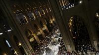 Bénédiction de neuf nouvelles cloches à Notre-Dame de Paris, le 2 février 2013 [Kenzo Tribouillard / AFP/Archives]